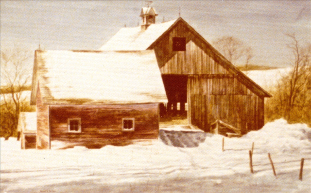 Barn with Package