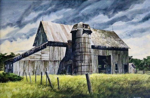 Barn in Summer