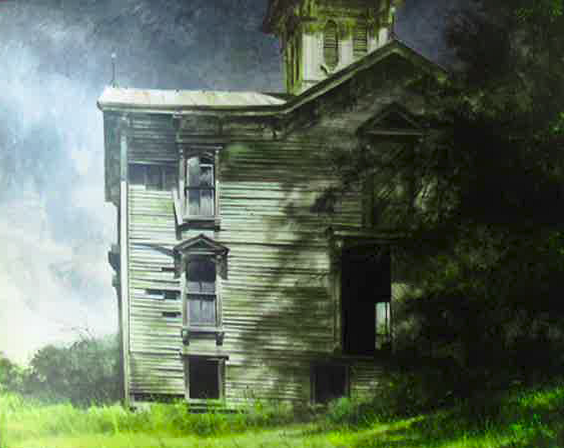 Barn with Cupola