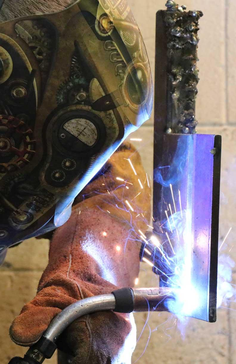 Welding at Bay College