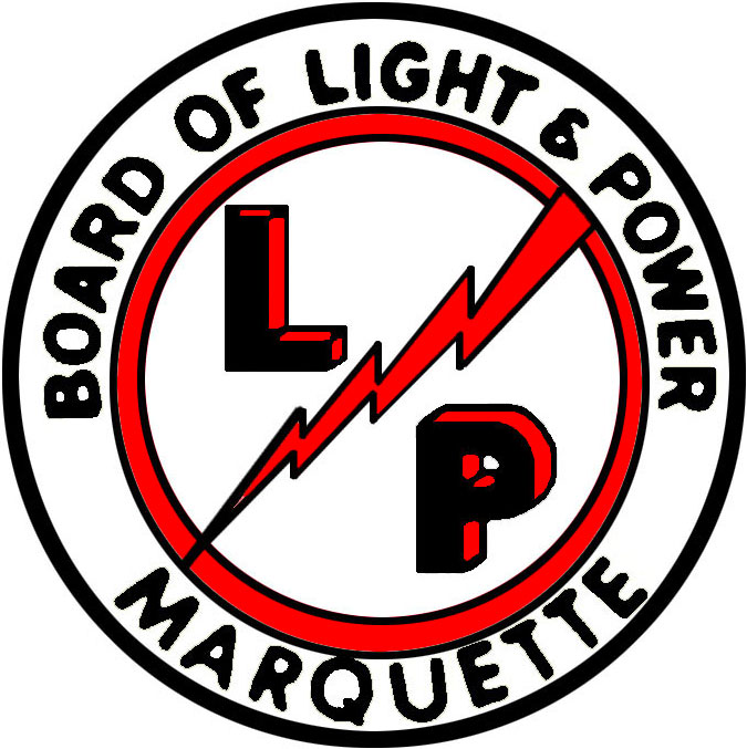 Marquette Boaerd of Light and Power logo
