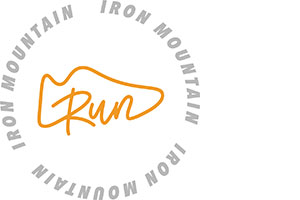 Run Iron Mountain logo