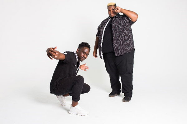 D & Chi isolated on a white background