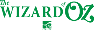 Emerald horizontal version of The Wizard of Oz logo