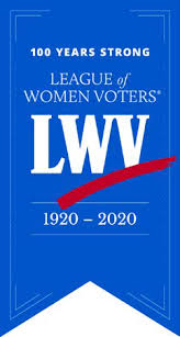 League of Women Voters 100 year banner